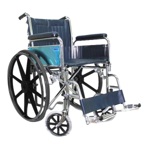 "Chrome 22"" Detachable Wheelchair 22"""