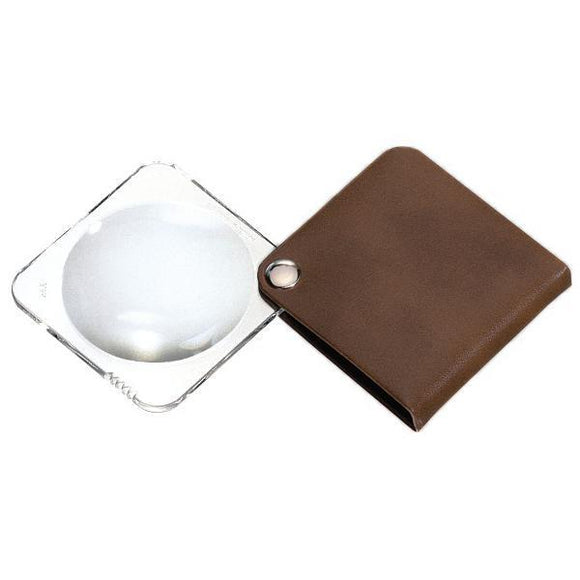 Daily Living Bronzite Brown Eschenbach Classic Reading Magnifier (Square)
