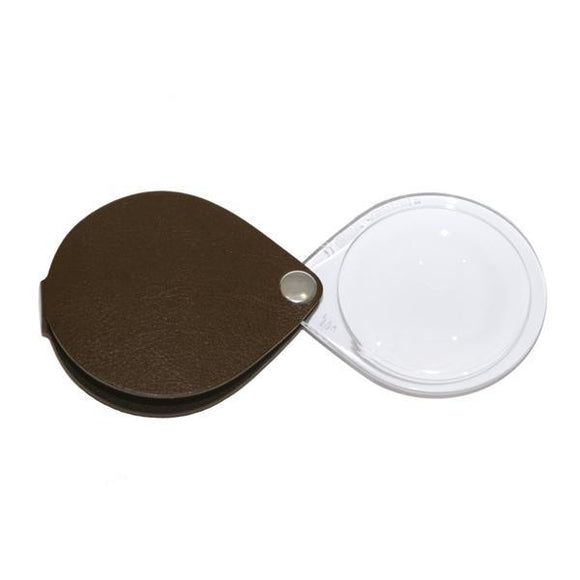Daily Living Nutria Brown Eschenbach Classic Reading Magnifier (Round)