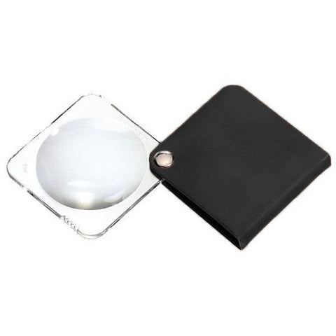 Daily Living Royal Black Eschenbach Classic Reading Magnifier (Square)