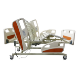 Deluxe Electric Hospital Bed with Quad Rails 3-Function