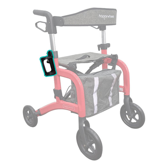 HappyWheels Lightweight Travel Rollator Spare Parts Cup Holder