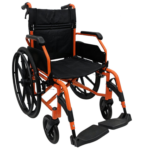 Orange HappyWheels Hero Wheelchair