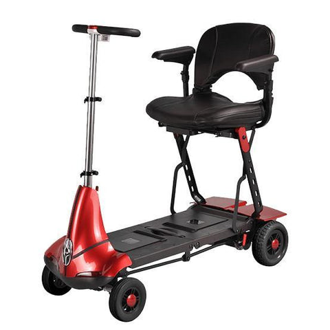 Mobility Red / None / None Solax Mobie Travel Scooter