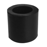 Mobility Rubber Seat Cane Tips (Black) by The Cane Collective