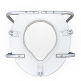 "Raised Toilet Seat 3"" with Handles Default"