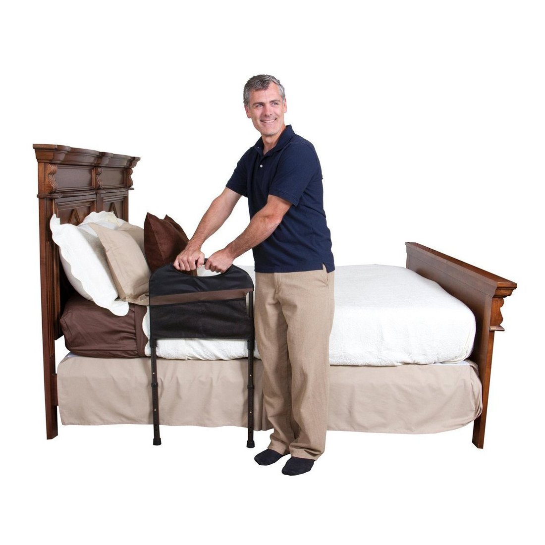Stander USA Stable Bed Rail for Elderly Persons