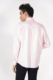 Will & Well Long Sleeve Shirt With Magnetic Snap Buttons Baby Pink / S