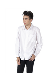 Will & Well Long Sleeve Shirt With Magnetic Snap Buttons White / S