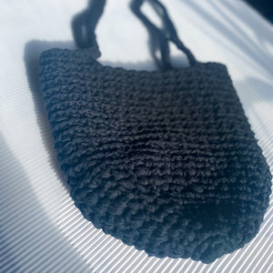 CROCHET BAG - (FROM RECYCLED YARN)