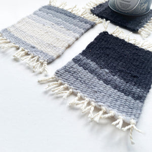 ONLINE WEAVING WORKSHOP | MAKE YOUR OWN WOVEN COASTERS