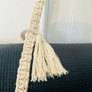 MACRAME WORKSHOP | YOGA MAT HOLDER