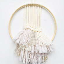Load image into Gallery viewer, WEAVING WORKSHOP | UP-CYCLED EMBROIDERY HOOP