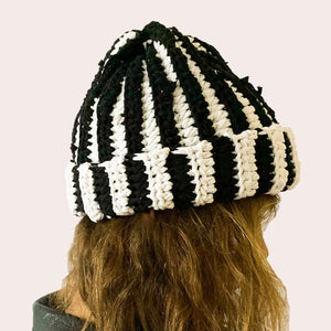 CROCHET A HAT WORKSHOP (USING RECYCLED T-SHIRT YARN)