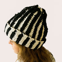 Load image into Gallery viewer, CROCHET A HAT WORKSHOP (USING RECYCLED T-SHIRT YARN)