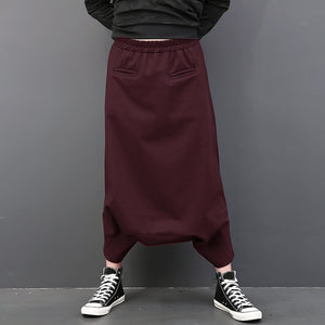 INCERUN Hip Hop Baggy Pants