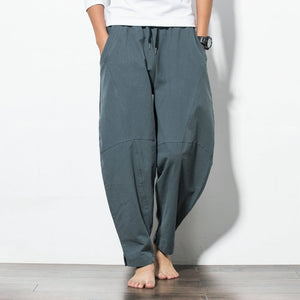Comfortable Loose Harem Trousers Baggy Wide Pants