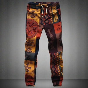 High Street Pants Harem Hiphop Hawaiian Vacation