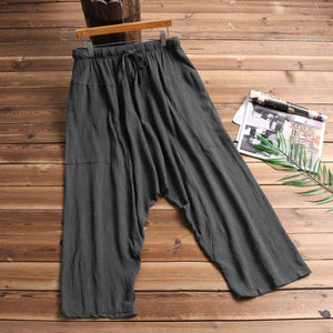 Retro Hiphop Men Baggy Pants