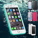 Silicone phone case waterproof and shockproof for iPhone 5 5S SE 6 6S 7P