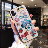 Mobile phone case 6s iphone7/8plus cartoon silicone soft shell xr
