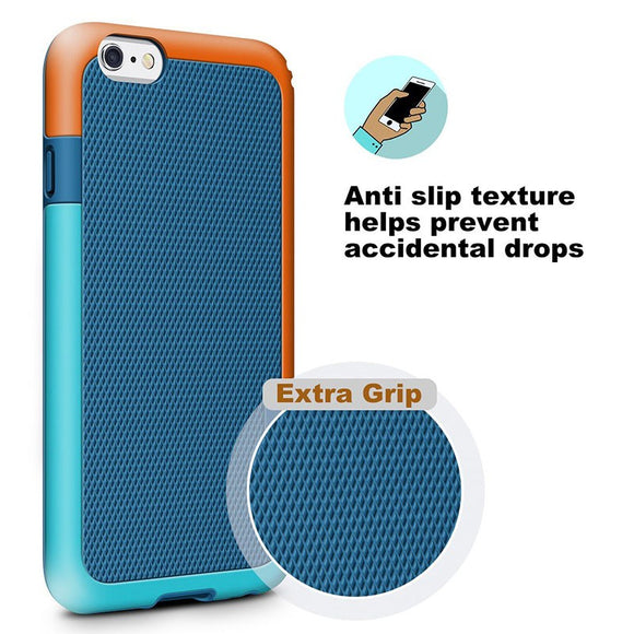 Ultra-thin shockproof TPU soft shell Capa for iphone 6 6s 6plus 7 8