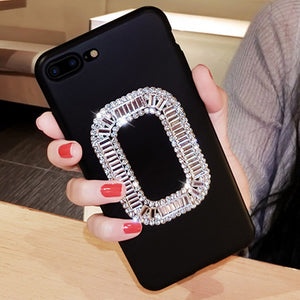 Stylish diamond case for iPhone6 6s 7 8 Plus 6PLUS 7P X