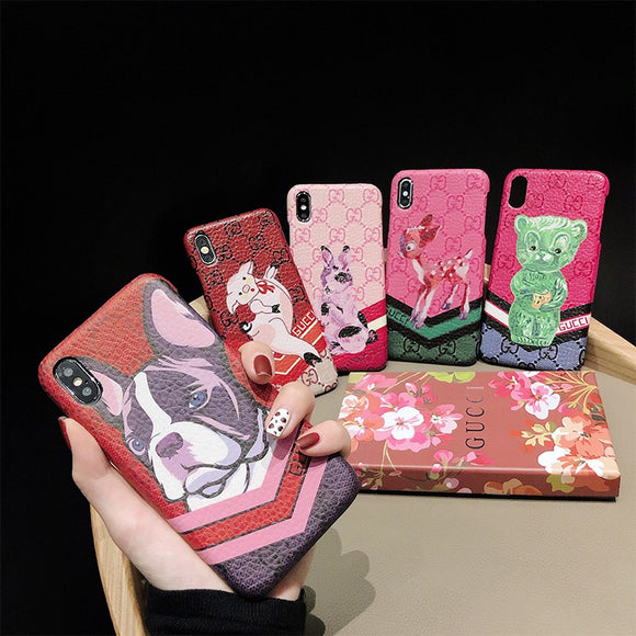 Stylish cute animal case for Iphone