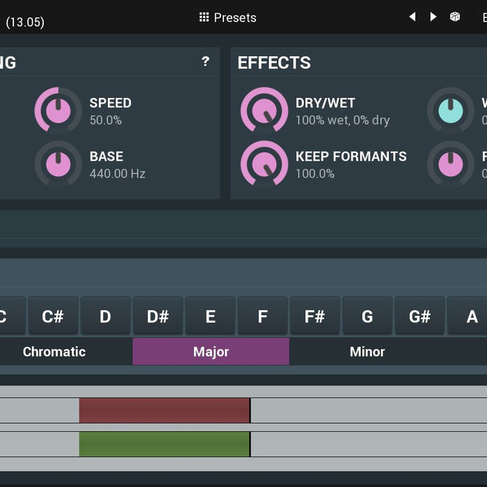 MAutoPitch by MeldaProduction - Free Autotune VST Plugin
