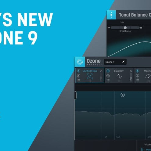 What's New in iZoptope's Ozone 9 - New Features