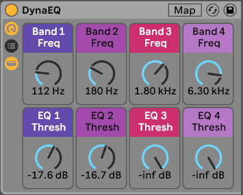 DynaEQ - Dynamic EQ for Ableton - PausePlayRepeat