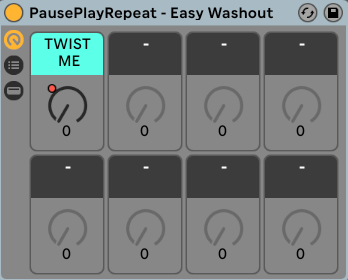 Easy Washout - Ableton Audio Effect Rack - PausePlayRepeat