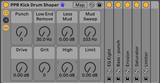 Kick Drum Shaper Audio Effect Rack for Ableton Live 10.1 - PausePlayRepeat