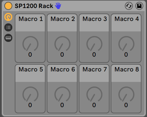 SP1200 Style Ableton Audio Effect Rack - PausePlayRepeat