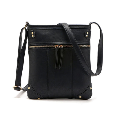 Ladies 2016 Womens Handbag Leather Satchel Cross Body Business Shoulder Messenger Bag Women's Fashion Solid Bags para mujer