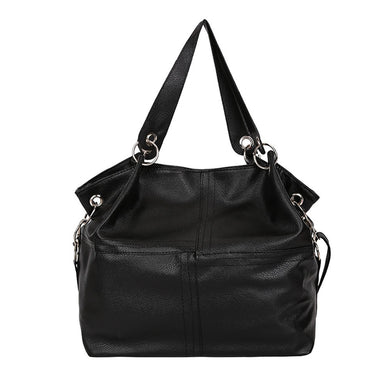 Fashion Women's Splice Leather Shoulder Bags With Corssbody Bag&Handbag