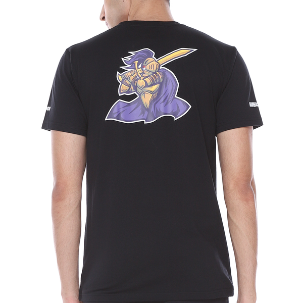 T-Shirt CLS Knights 9 - Black/Purple