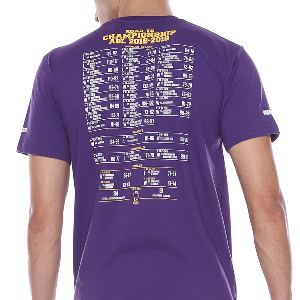 T-Shirt CLS Knights Champions - Purple