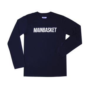 T-Shirt Basic Long Sleeve - Navy/White