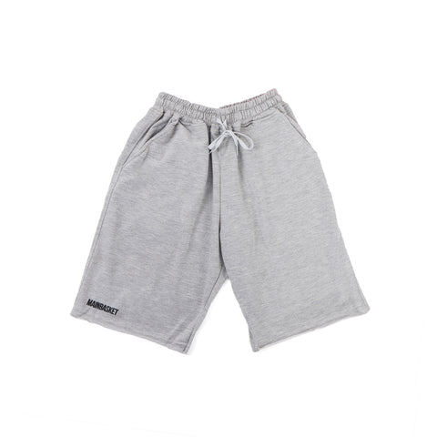 Short Pants Basic Unfinish - Misty/Black