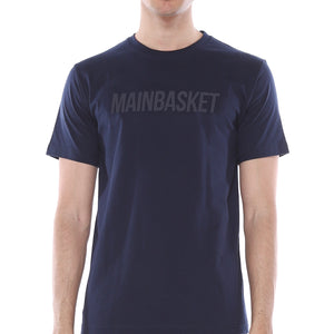 T-Shirt Basic Tone to Tone - Navy