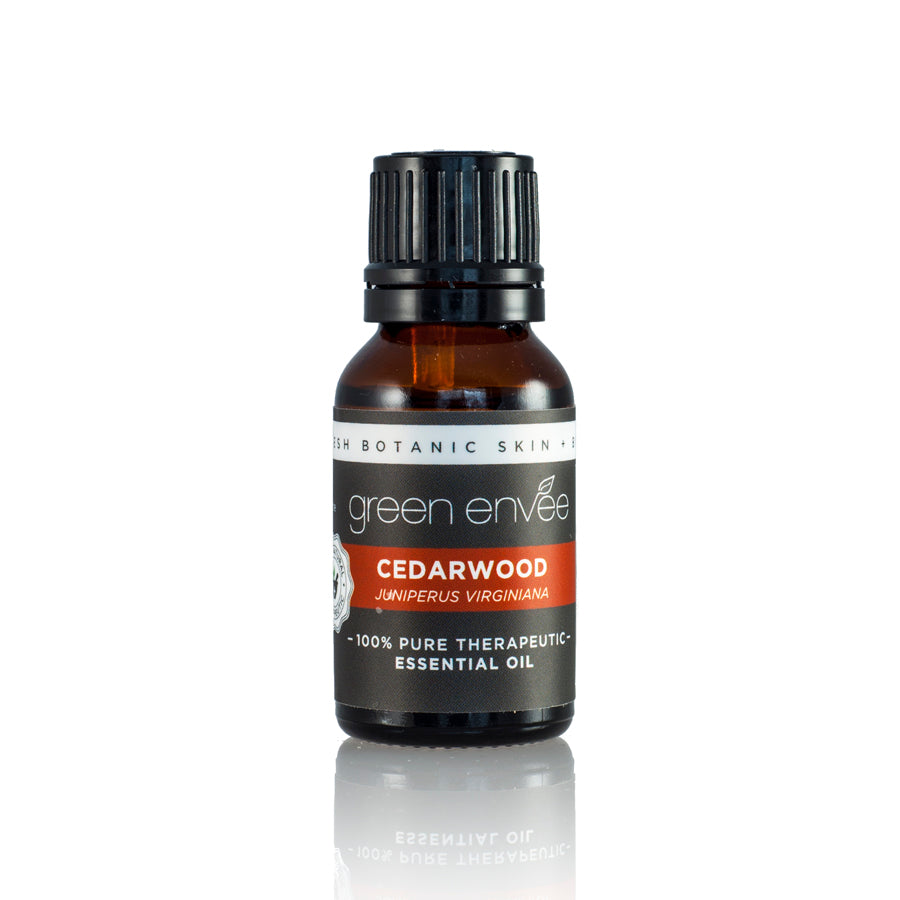 CEDARWOOD PURE ESSENTIAL OIL 15ML 有機北非雪松精油