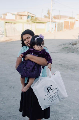We Donate 10% of all of our profit to families in need in Mexico.
