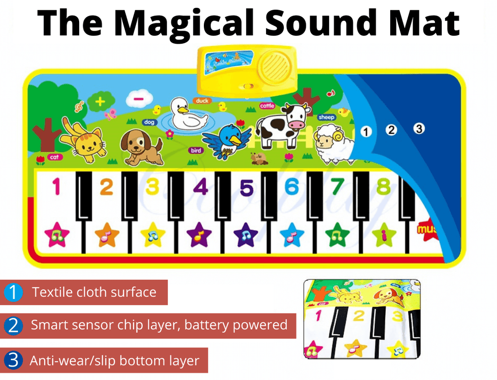 The Magical Sound Mat - Weelands