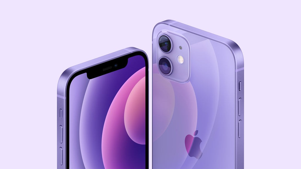 iPhone 12 now in Purple