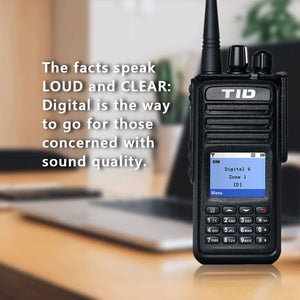 New Radio! Dual Band DMR Radio TD-DP880 Comes!