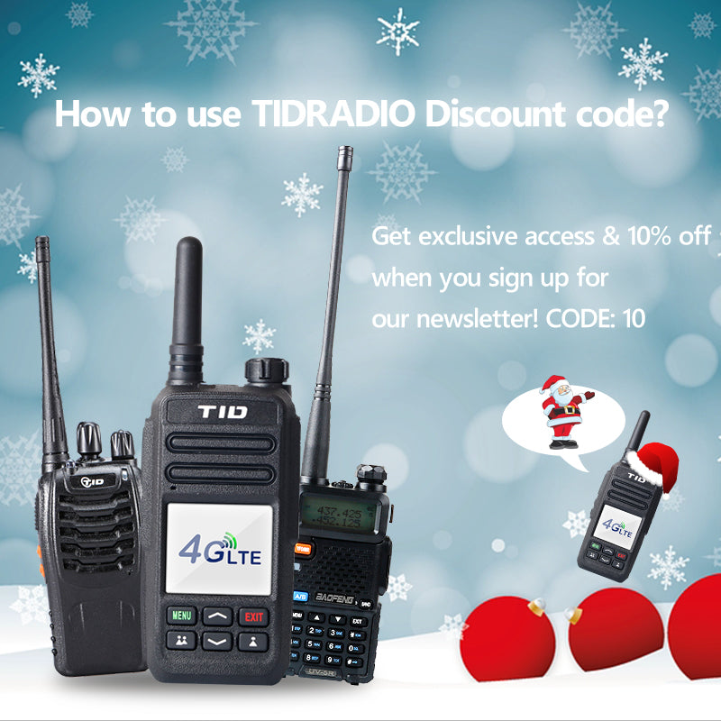 How to use TIDRADIO Discount code?