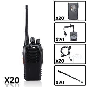 TID TD-V2 UHF Radio Bundle ( 20PCS & 20 Li-ion battery pack )