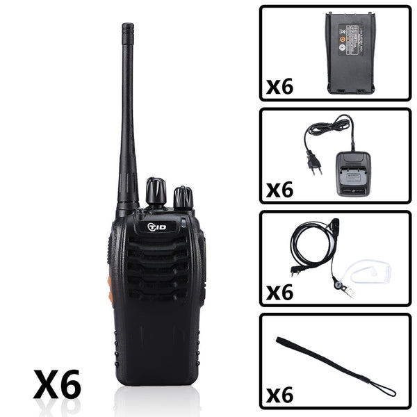 TID TD-V2 UHF Radio Bundle ( 6PCS )
