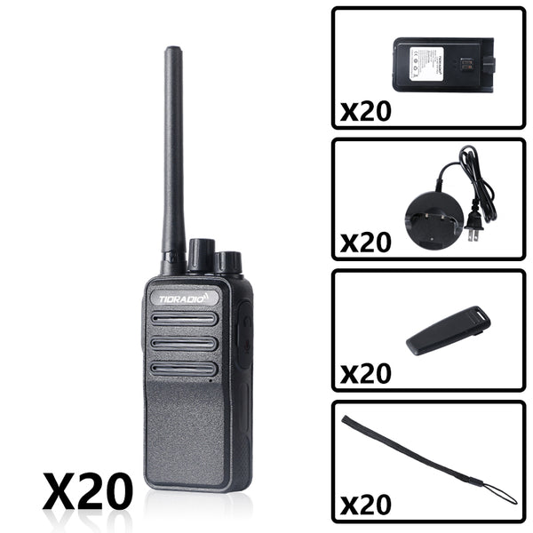 TIDRADIO TD-60 FRS Business Radio Bundle( 20PCS )
